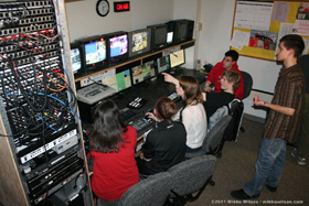JDHS Production Control Room